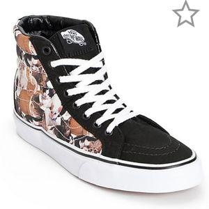 Vans Shoes - Kittens! Vans x ASPCA Sk8-Hi Slim Kittens Shoes
